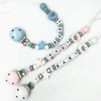 Baby Star Pacifier Chain dummy Holder Clip Baby Feeding Teether Pacifiers Clip