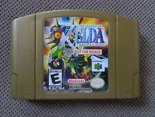 Zelda Majora's mask Gold - Not For Resale - rare