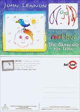 Book Advertising: Real Love, Drawings for Sean by John Lennon Art. Beatles.