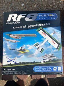 RealFlight 8 Horizon Hobby Edition NIB Flight Simulator RF8