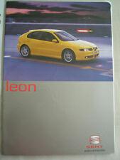Seat Leon range brochure Jan 2003