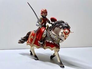 Schleich Ritter mit Schwert auf Pferd / 70056