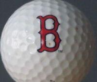3 Dozen Boston Red Sox B LOGO Titleist Pro V1 Mint PERFECT CONDITION Golf Balls