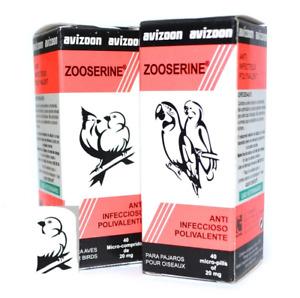 Avizoon 2 Zooserine 40 micropilas Producto espectacular Para palomas  aves y ave