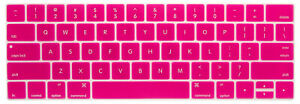 """Pink MacBook Keyboard Cover Protective Waterproof Spill Durable Air Pro 13"""" AU"""