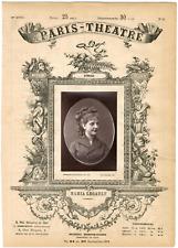 Lemercier, Paris-Théâtre, Marie-Françoise Legault dite Maria Legault (1858-1905)