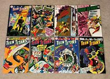 TEEN TITANS #6-7-11-12-14-15-16-22 ~ Lot of 8 original series DC 1966-69 ~ Nice!