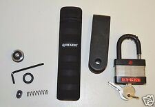 Lot Of Ruger Spare Parts & Pad Lock With Keys TESTED WORKS Part Number MFR 3EZ11