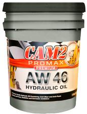 AW 46 Hydraulic Oil Fluid (ISO VG 46, SAE 15W) - 5 Gallon Pail