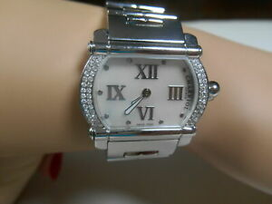 Ladies Phillipe Charriol RARE Actor Diamond Watch MOP Pearl Face SS, Boxes $6999