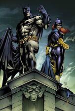 Sexy Batgirl & Batman Magnet # 2