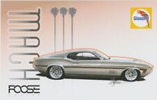 2017 Chip Foose BASF Glasurit '71 Ford Mustang Mach 1 SEMA Show info card