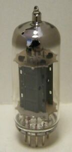 Long plate 12BH7 electron valve tube