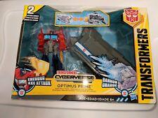 Optimus Prime Battle Base Trailer Transformers Energon Axe Attack Cyberverse New