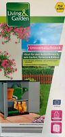 Mehrzweckschrank Universalschrank 68 x 39,5 x 85 cm Schrank Garten Werkzeug Grau