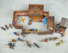 Vintage Playmobil 3806 Fort Glory 3732 native Americans Plus Extras 5th us cav