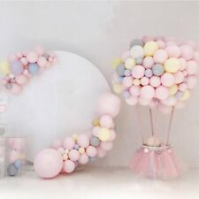 100PCS 5Inch Macaron Latex Balloons Candy Pastel Baby Shower Wedding Party Decor
