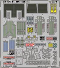 Eduard 1/32 F-14D Tomcat cinturones de seguridad # 32706