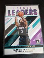 2019-20 Donruss Basketball League Leaders Insert #10 James Harden Rockets