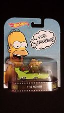 2014 HOT WHEELS The Simpsons Homer Mars Car (Green) Collectible POP CULTURE / TV