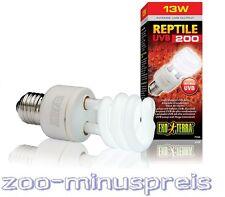 Exo Terra Reptile UVB 200 13 Watt Terrariensparlampe, geeignet für Wüstenterrien