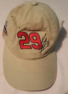 NOS Kevin Harvick Hat #29 #2 RCR Goodwrench ACDelco Tan Embroidered NASCAR NWT