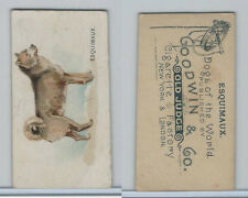N163 Goodwin, Dogs of World, 1890, Esquimaux