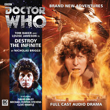 DOCTOR WHO Big Finish Audio CD Tom Baker 4th Doctor #3.6 DESTROY THE INFINITE