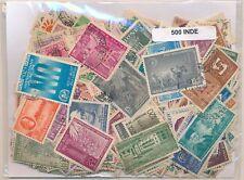 India    US  Paquete  500 sellos diferentes