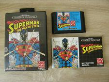 Superman The Man Of Steel (complete / PAL) - Sega Mega Drive
