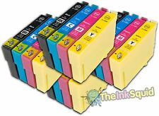 16 Ink Cartridges for Epson Stylus non-oem Replaces Epson T1291-4 (T1295) Apple