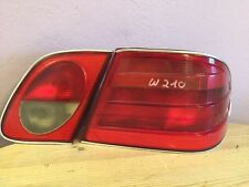 Originale 2x Rückleuchten rechts Set Chrom Mercedes-Benz E-Klasse W210 Limo