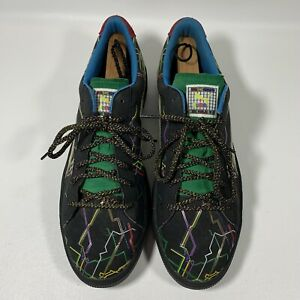 PUMA Dee And Ricky's Whimsical World Shoes Sneakers Art #36149801 Men's Size 12