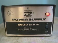 NPC Electronics Solid State Power Supply Model 102