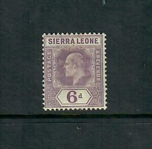 Sierra Leone MH* Scott #  72  HR and ink marks on back  Free Ship inside of USA