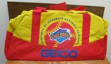 Brooklyn Cyclones Baseball Gym Bag by GEICO  MINT