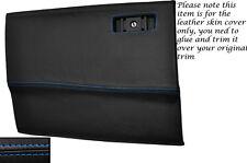 BLUE STITCH GLOVE BOX LID LEATHER SKIN COVER FITS TOYOTA SUPRA MK3 1986-1993