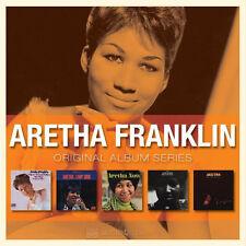 Aretha Franklin ORIGINAL ALBUM SERIES Box Set LADY SOUL Fillmore West NEW 5 CD