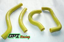 silicone radiator hose kit FOR Suzuki RMZ450/RM-Z 450/RMZ 450 2005 05 yellow