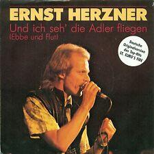 """Ernst Herzner - Und I Seh' The Eagle Fliegen St Elmos Fire 7 """" Single (b388)"""