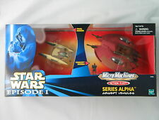 STAR WARS MICRO MACHINES SERIES ALPHA TRADE FEDERATION DROID FIGHTER NRFB FIGURE