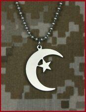 Muslim Crescent and Star USA Made Jewelry