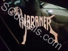 Weimaraner Vinyl Sticker*Free shipping in the Usa