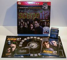 SCENE IT? THE DVD GAME - TWILIGHT EDITION - WITH HEART-STOPPING MOVIE CLIPS