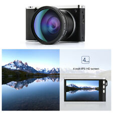4 Inch 24 Million Pixel HD 12X Optical Zoom Micro Single Cam Camer IPS Portable