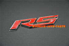 Car RS Emblem Badge Sticker for CHEVROLET Camaro 2010-2015 RS Boot Rear Badge x1