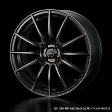 WedsSport SA-15R 7.0J-17 +43 4x100 rims set of 4 Made in Japan MX-5 PRIUS C