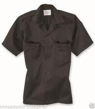 Camisas casuales de hombre negro talla L