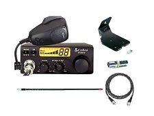 Cobra CB Radio 19DX Package Kit for Jeep Wrangler CJ YJ TJ with Firestick Antena