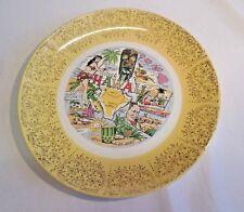 Hawaii Souvenir Plate
